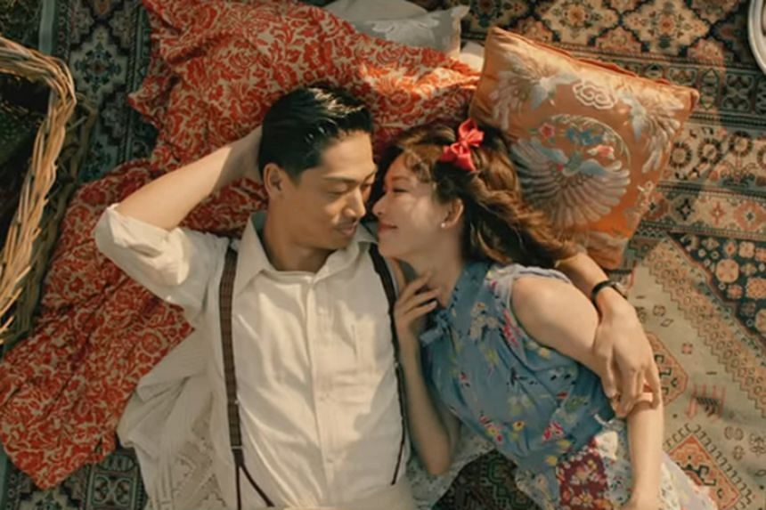 Chiling Lin and Akira play lovers over several time periods in a teaser video to promote a song called White Wings from Japanese group J Soul Brothers from Exile Tribe.