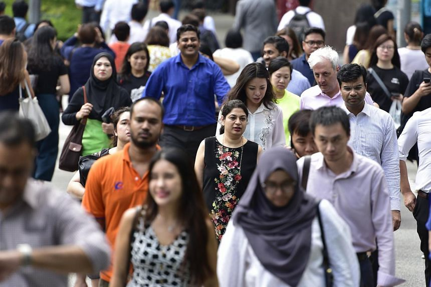 The report showed that the employment rate for residents aged 25 to 64 rose from 80.3 per cent in June last year to 80.8 per cent in June this year.