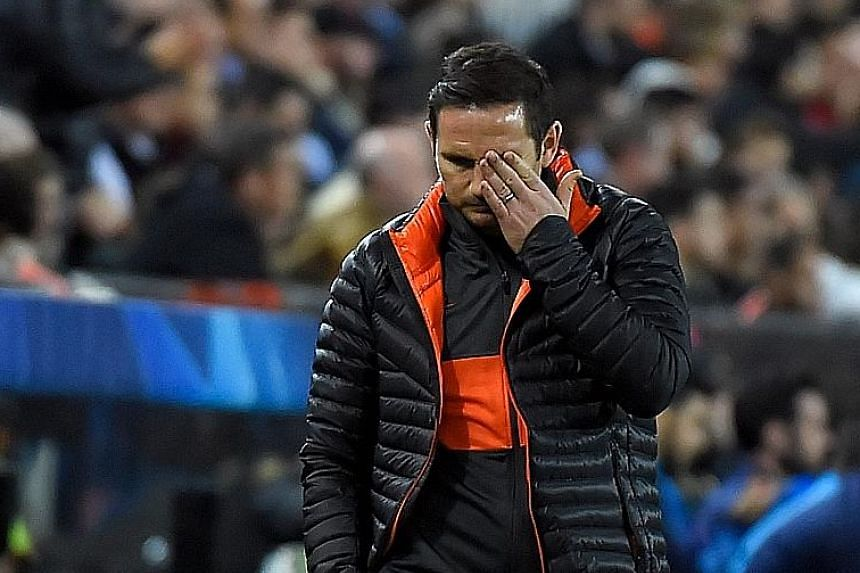 Chelsea manager Frank Lampard is a relieved man after his side escaped with a 2-2 Group H draw against Valencia at the Mestalla on Wednesday.