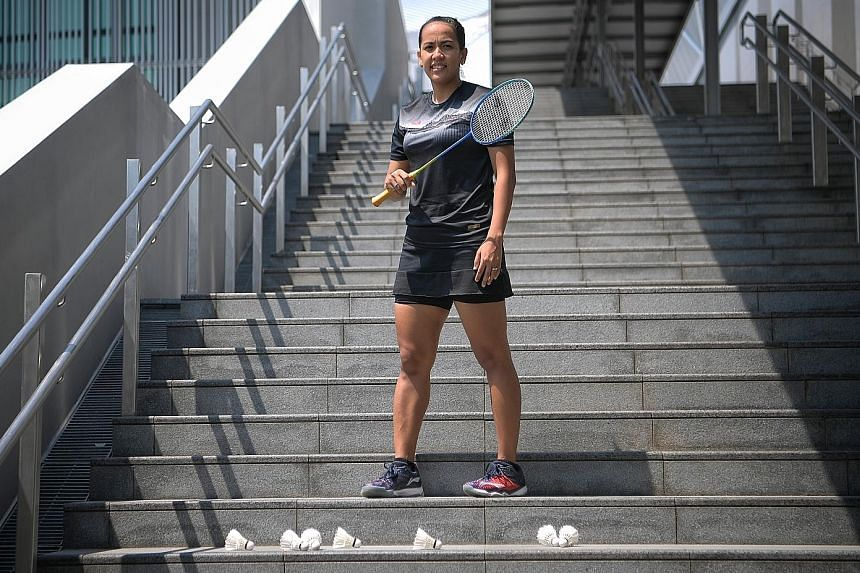 Shinta Mulia Sari is eager to make up for time lost, having spent three years away from the badminton court to raise her son. The shuttler will be playing her seventh SEA Games in the Philippines.