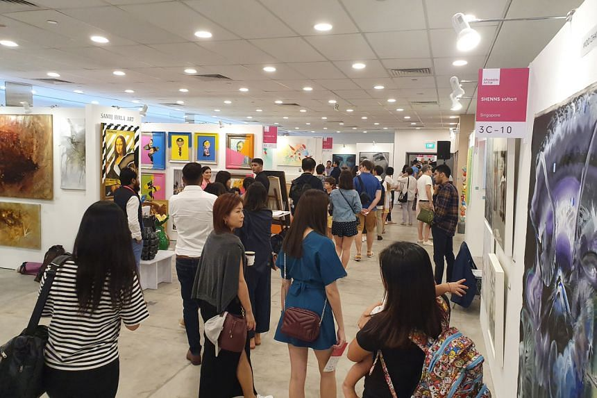 Despite the dip in sales, this year's Affordable Art Fair Singapore saw more visitors and sold 200 more artworks.