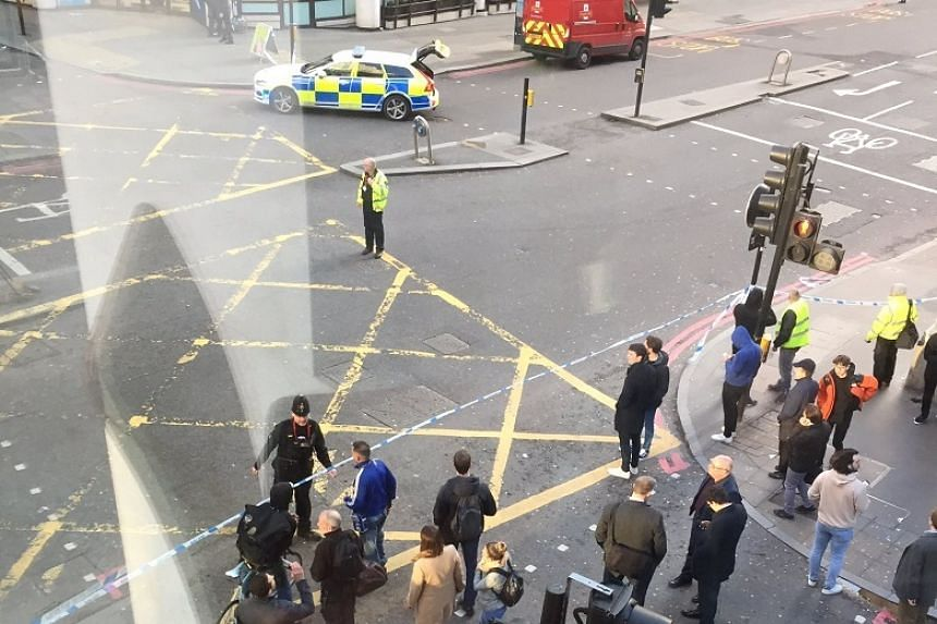 Witnesses told British media that the police arrived quickly at the scene soon after shots were heard.