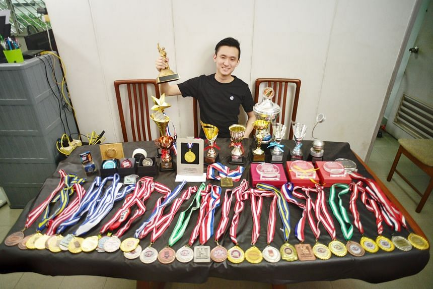 Singapore's only world yo-yo champion spent $7k for 1 minute onstage,