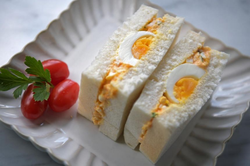 Tamago Sando, or egg sandwich, is a ubiquitous snack available in all convenience stores or konbini.