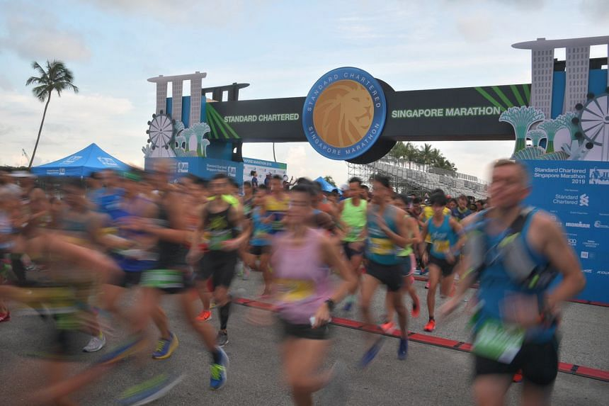 The 42km race attracted over 15,000 participants.