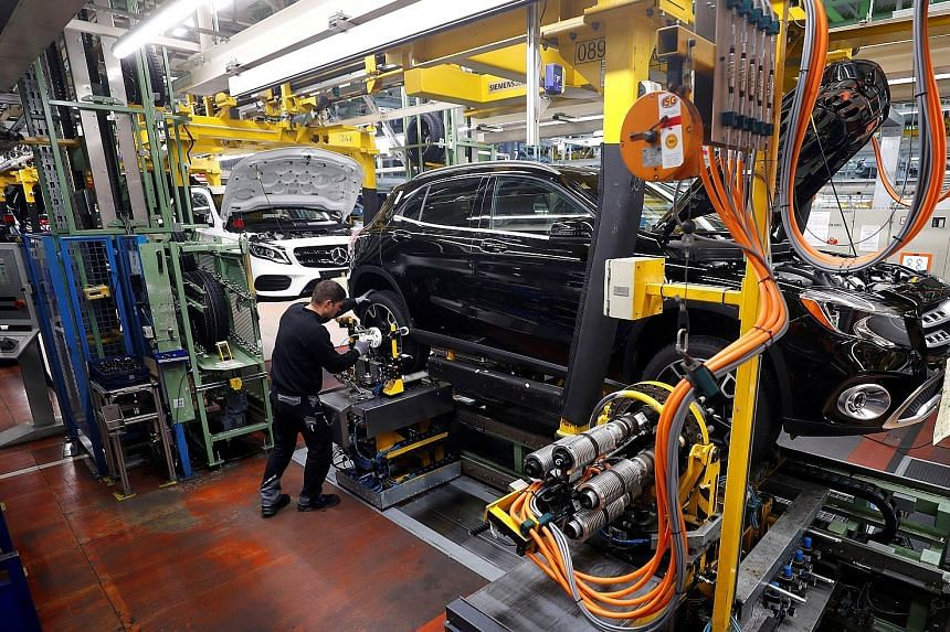Companies from Volkswagen to Siemens are letting workers go as Germany's powerful automotive industry struggles with a shift towards electrification and self-driving cars, and makers of machinery and robots are hit by slower exports and trade dispute
