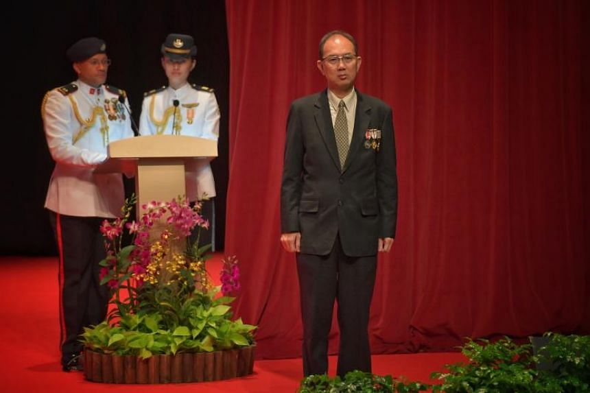 Mr Chiang Chie Foo, chairman of the CPF Board and chairman of PUB.