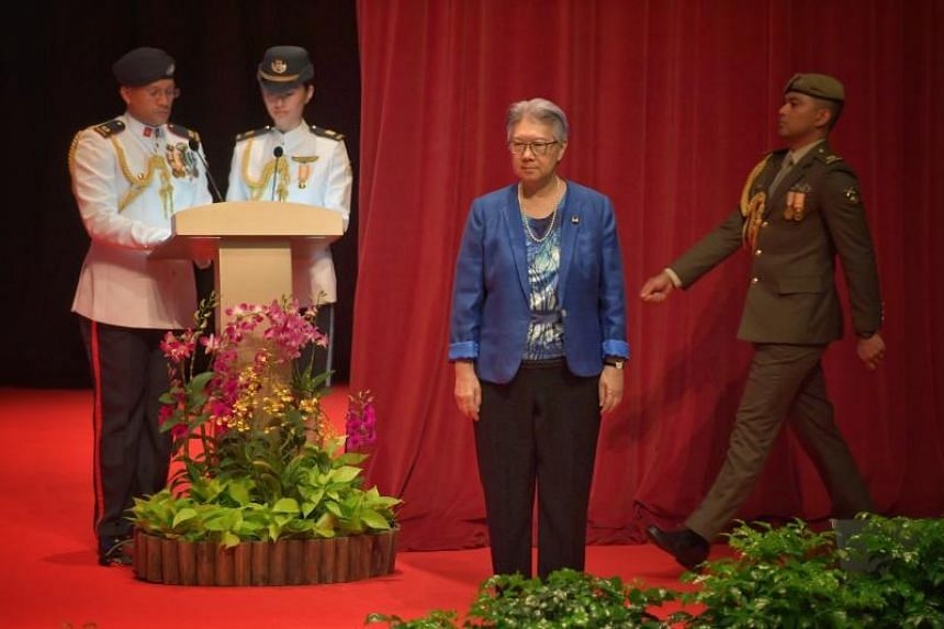 Ms Ho Peng, former director-general of the Ministry of Education.