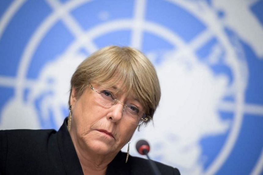 China's mission to the UN in Geneva said an op-ed written by United Nations human rights chief Michelle Bachelet in the South China Morning Post was erroneous.