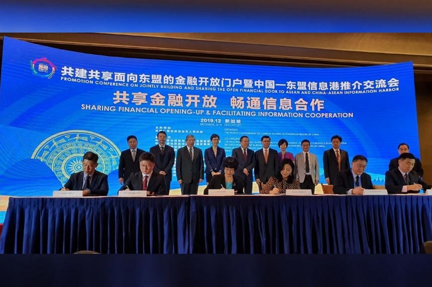 Singapore companies and organisations from Guangxi signed six memoranda of understanding at a forum organised by the Guangxi Zhuang Autonomous Region on Dec 2, 2019.