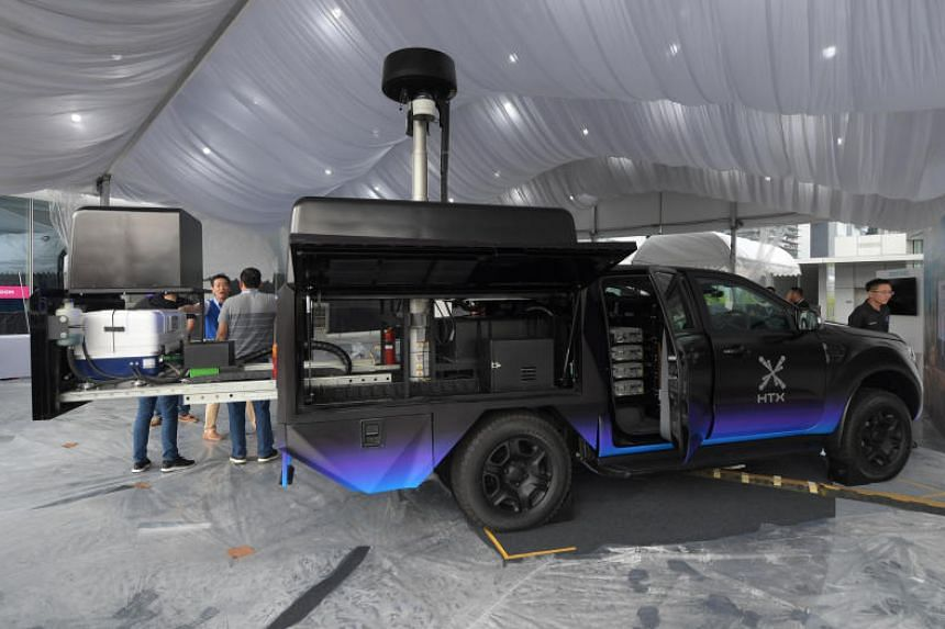 Xentinel, an anti-drone mobile response vehicle, is able to detect drones up to a kilometre away and requires only one person to operate.