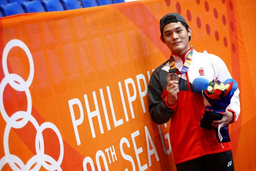 Joel Tseng's grit and determination were rewarded as he clinched Singapore's first medal in kurash at the SEA Games in San Fernando City.