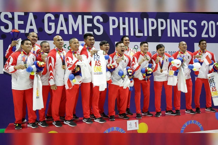 While Singapore dominated water polo at the Games for over five decades, their regional rivals like Indonesia (above, who won the gold this time) had been slowly catching up with each edition of the biennial event.