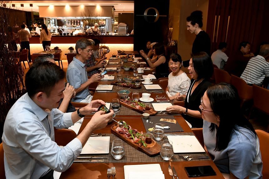 ST subscribers were among the first to sample Osia's new festive sharing menu, which is available at the restaurant in Resorts World Sentosa till Dec 23, 2019.