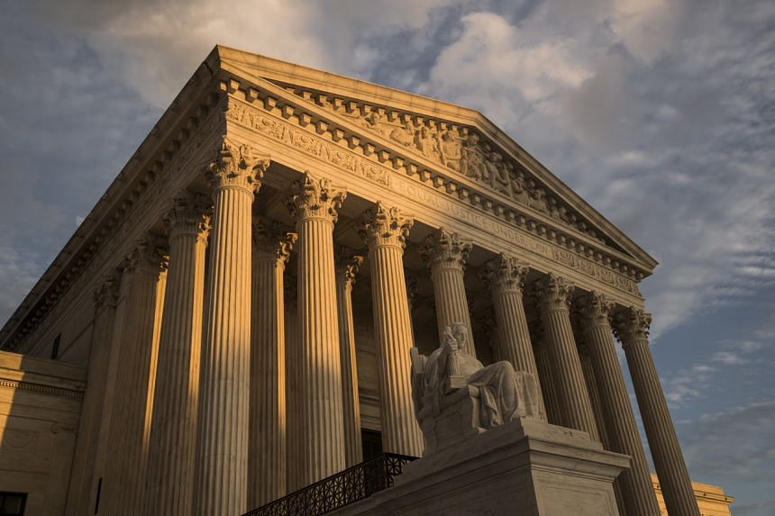 The Supreme Court in Washington. The US Justice Department has asked the Supreme Court to allow the resumption of the death penalty at the federal level after a 16-year hiatus.