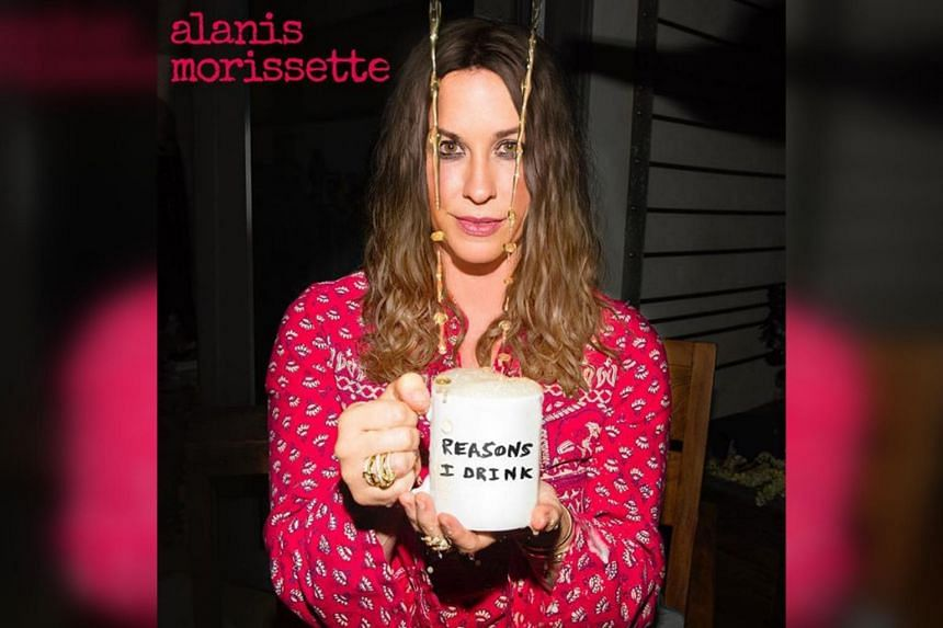 Feminist rocker Alanis Morissette offered fans a tease of her ninth studio album Such Pretty Forks In The Road, dropping a lead single Reasons I Drink.