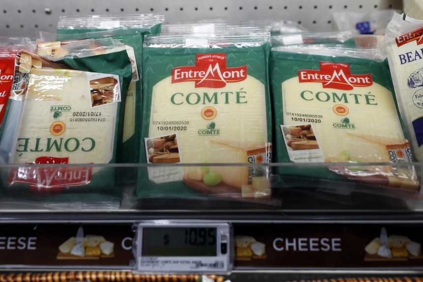 The French products affected could include champagne, handbags and cheese.