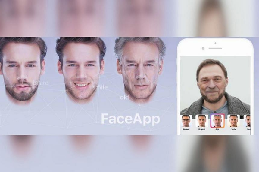 The viral smartphone app saw a surge in popularity this year due to a filter that ages photos of users' faces.
