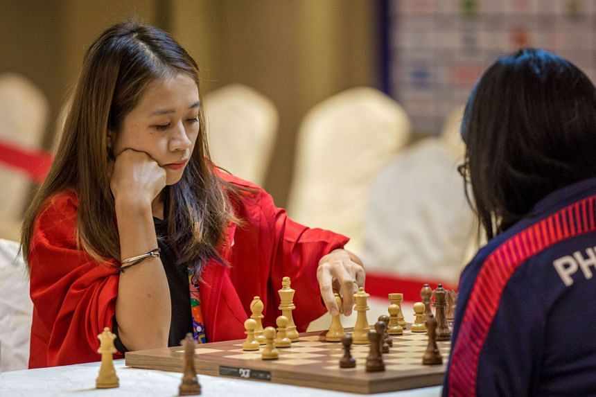 Gong Qianyun became not just the first Singaporean SEA Games champion in chess, she is also the winner of the Republic's 900th gold medal at the biennial multi-sport meet.