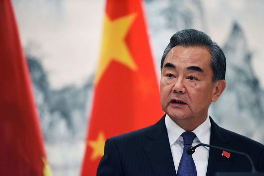 Chinese State Councillor Wang Yi's visit will be his first since a dispute erupted over the installation of the US Terminal High Altitude Area Defence system in South Korea.