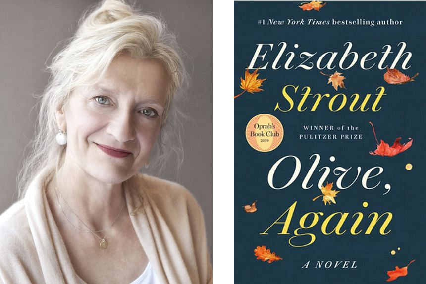 Elizabeth Strout (left) returns with Olive, Again (above), a sequel to Olive Kitteridge that shines with compelling themes and captivating storytelling.