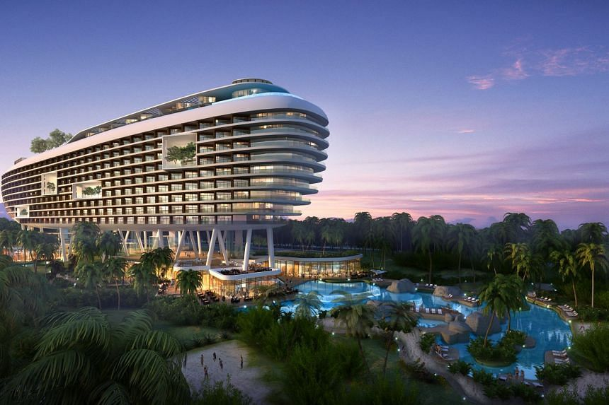 Another one of Yanlord Land's creations, the Sanya Hai Tang Bay beachfront development in Hainan impresses with its 189 villas and five-star hotel, Crowne Plaza.