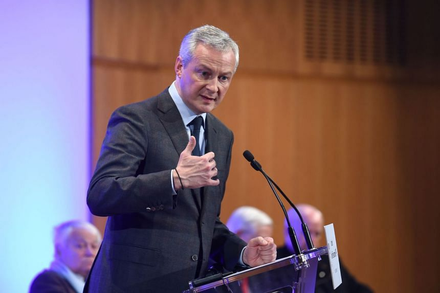 """French Finance Minister Bruno Le Maire described the US proposals as """"unacceptable""""."""
