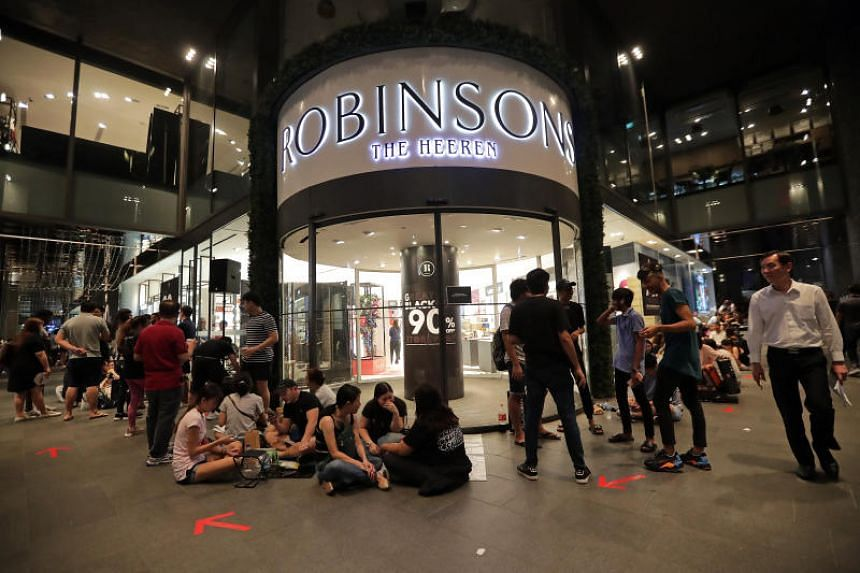 Over at Robinsons The Heeren, shoppers started queueing as early as 4am on Nov 28, 2019, more than 24 hours before the sale kicked off.