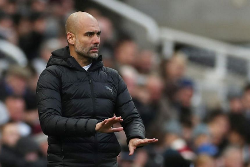 Manchester City manager Pep Guardiola said the club would assess those players out of contract when the season is over.