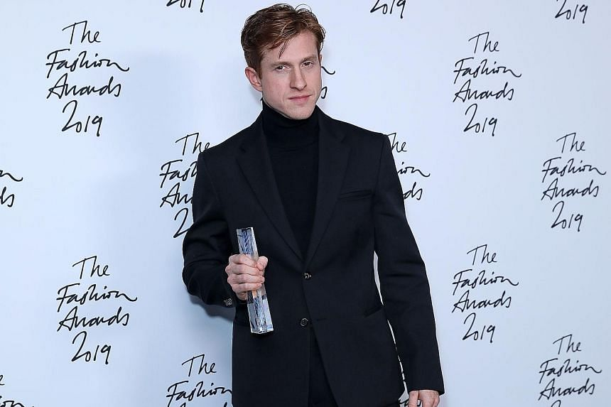 Bottega Veneta creative director Daniel Lee was named Designer of the Year, British Designer of the Year - Womenswear and Accessories Designer of the Year at the British Fashion Awards in London on Monday.