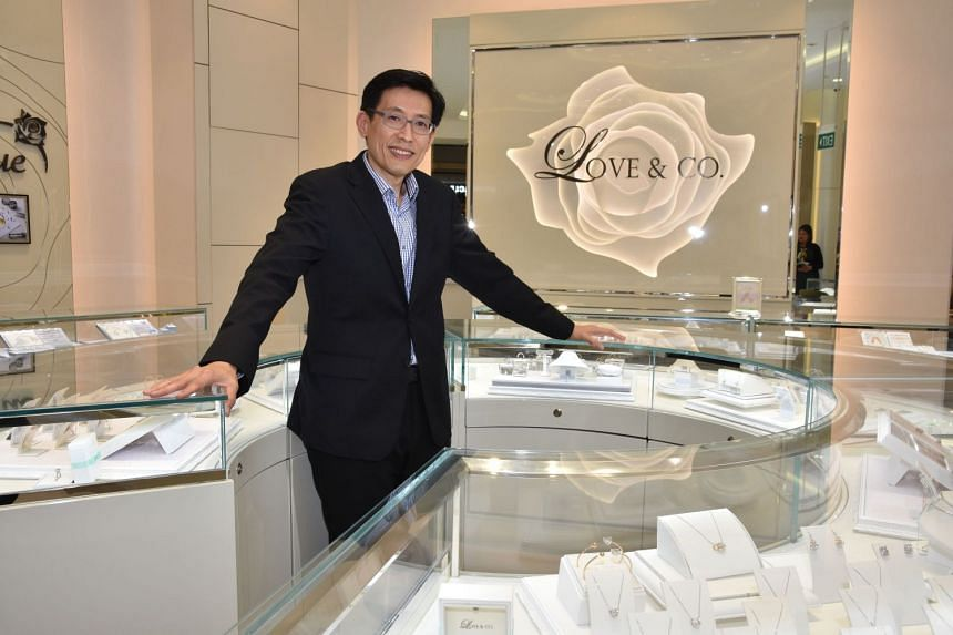 Mr Daniel Lim, executive director and group CEO of SK Jewellery Group, which owns the Love & Co brand. PHOTO: MOHAMED ISMAIL OSMAN