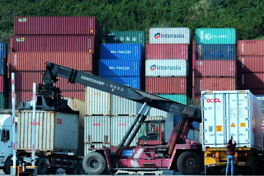 The indicator for new export business rose to a four-month high, with overall new business picking up, too.