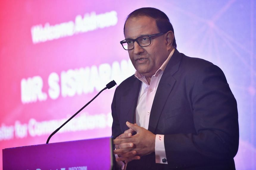 Minister for Communications and Information S. Iswaran said Singapore aims to do more to involve the private sector.