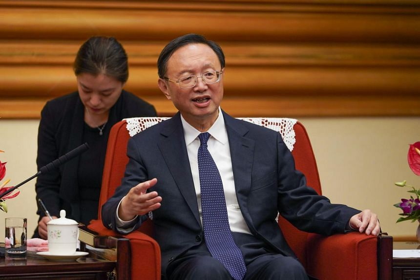 Mr Yang Jiechi made the comments during a meeting with representatives of a US organisation.