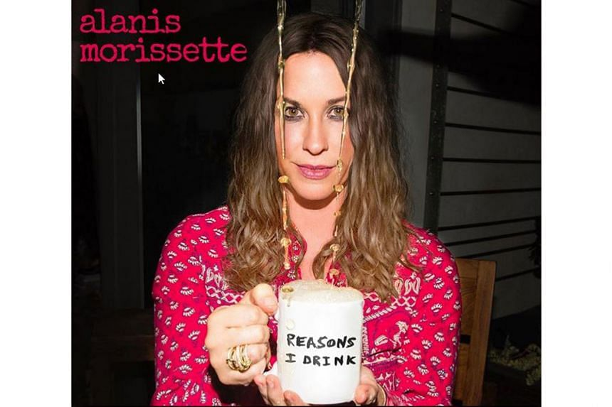 Canadian rocker Alanis Morissette has released the single, Reasons I Drink, from her upcoming album.