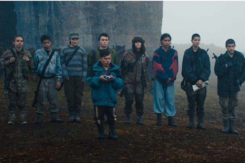 Monos is Colombia's entry to the Academy Awards and winner of the Special Jury Award at the Sundance Film Festival.