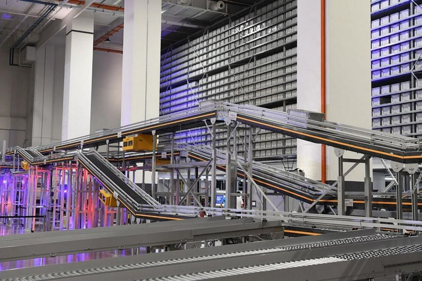 Bollores Logistics' new facility in Boon Lay has a centralised automated system which boosts the productivity of goods picking.
