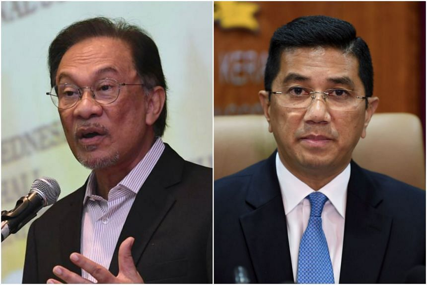 Parti Keadilan Rakyat has agreed to an eleventh hour compromise late on Dec 4, 2019, averting open warfare between party president Anwar Ibrahim (left) and his deputy Azmin Ali at its four-day national assembly.