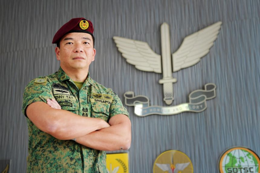 Chief Commando Officer Kenny Tay said the younger generation have had to give up more when they enlist in the military.