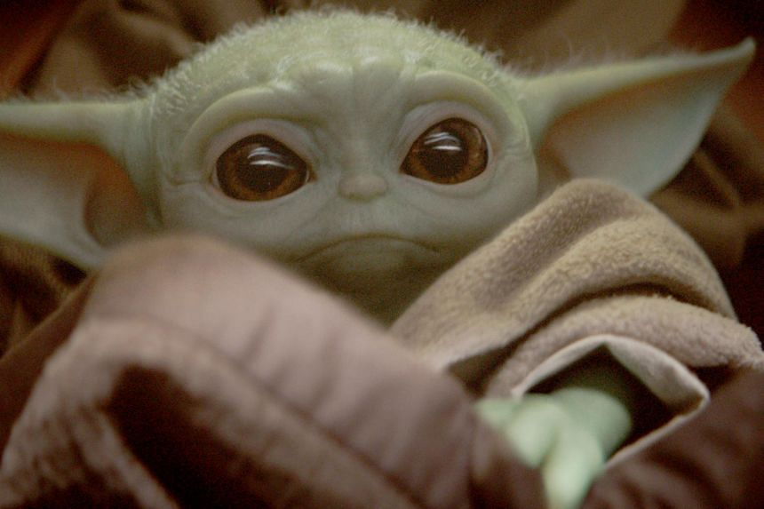 The cute, wide-eyed tyke was unveiled three weeks ago in the premiere of Disney's live-action Star Wars series, The Mandalorian.