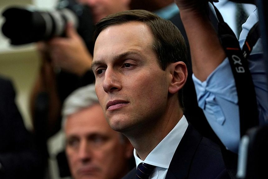 Mr Jared Kushner, who is married to Ms Ivanka Trump, is said to have been in contact with China's envoy to the US.