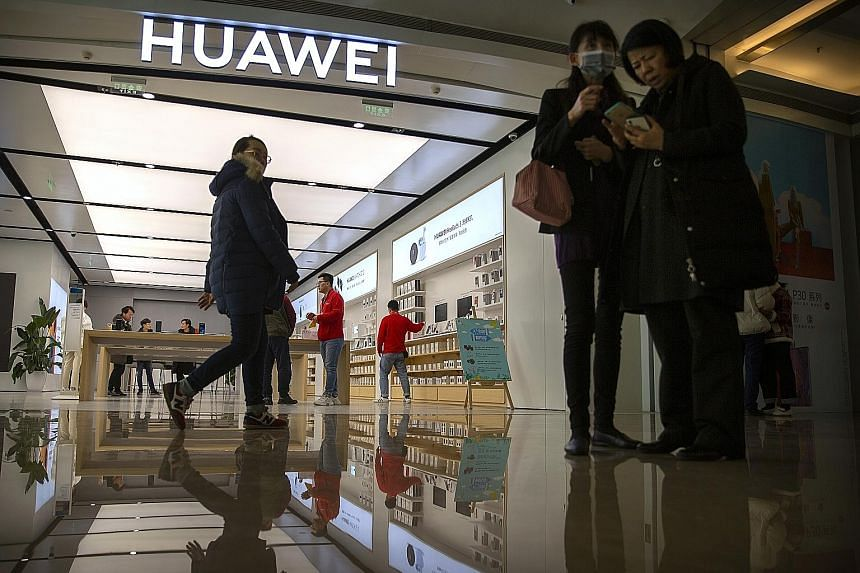 The plan to ban China's Huawei - the world's second largest smartphone producer after Samsung - from the US financial system could still be revived, said sources. Such a designation can make it virtually impossible for it to complete transactions in