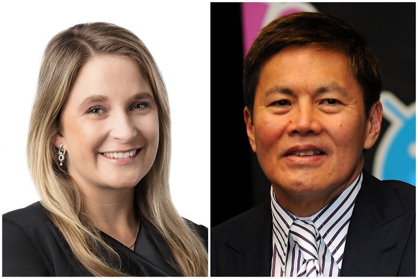CEO designate of Optus, Kelly Bayer Rosmarin, will take over from Allen Lew, who joined Singtel in 1980.