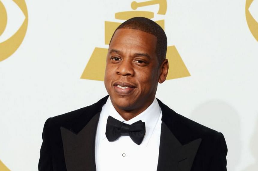 A 2013 photo shows Jay-Z at the 55th Annual Grammy Awards in Los Angeles, California.
