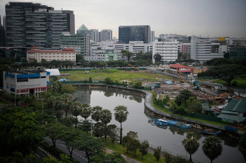 The Kampong Bugis site, at the mouth of Kallang River, will be released for sale to a master developer.