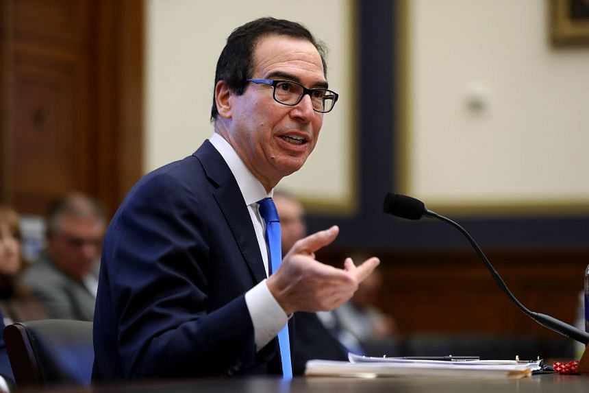 Treasury Secretary Steven Mnuchin said that he would like to see lending to China curbed as income levels there rise.