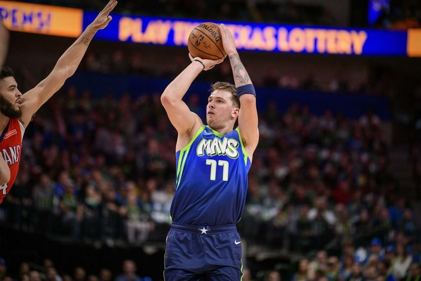 Luka Doncic scored 26 points in the Dallas Mavericks' 130-84 rout of the New Orleans Pelicans on Dec 7, 2019.