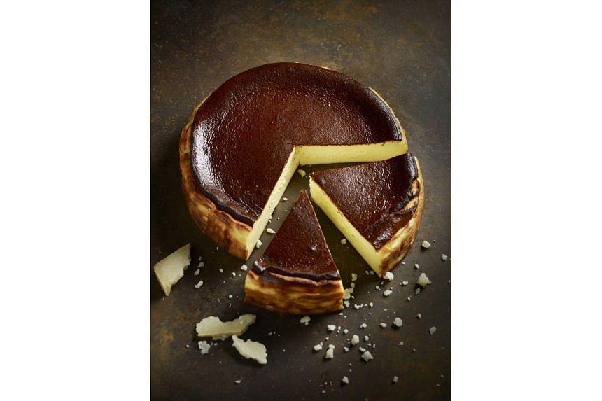 The Alkaff Mansion's Txa Pintxo Bar serves a Basque burnt cheesecake (above) and Grub cafe has a local interpretation of the cake – a burnt kaya cheesecake.