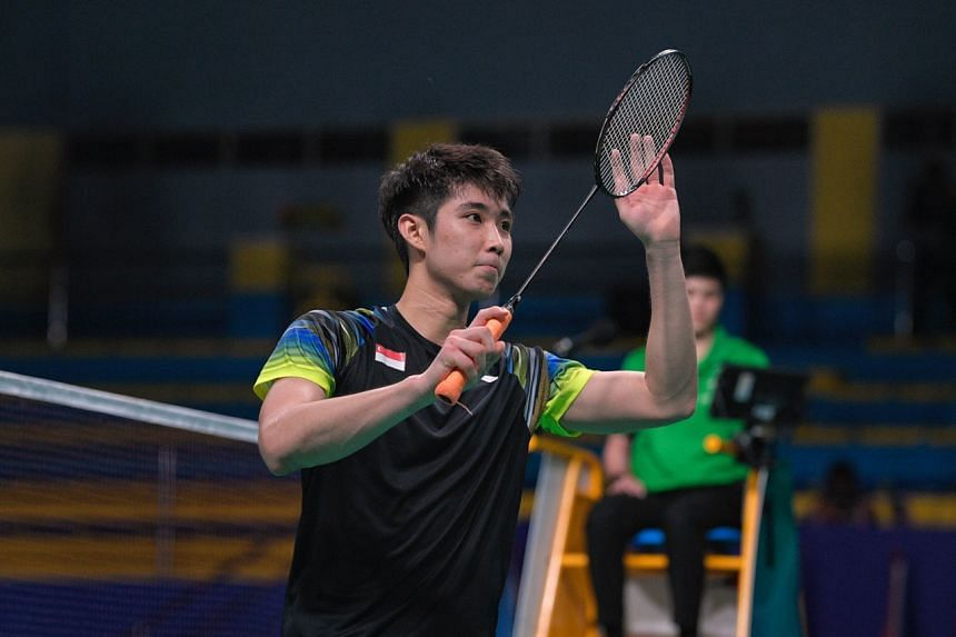 Loh Kean Yew is the first Singaporean men's finalist at the biennial Games since Kendrick Lee in 2007.