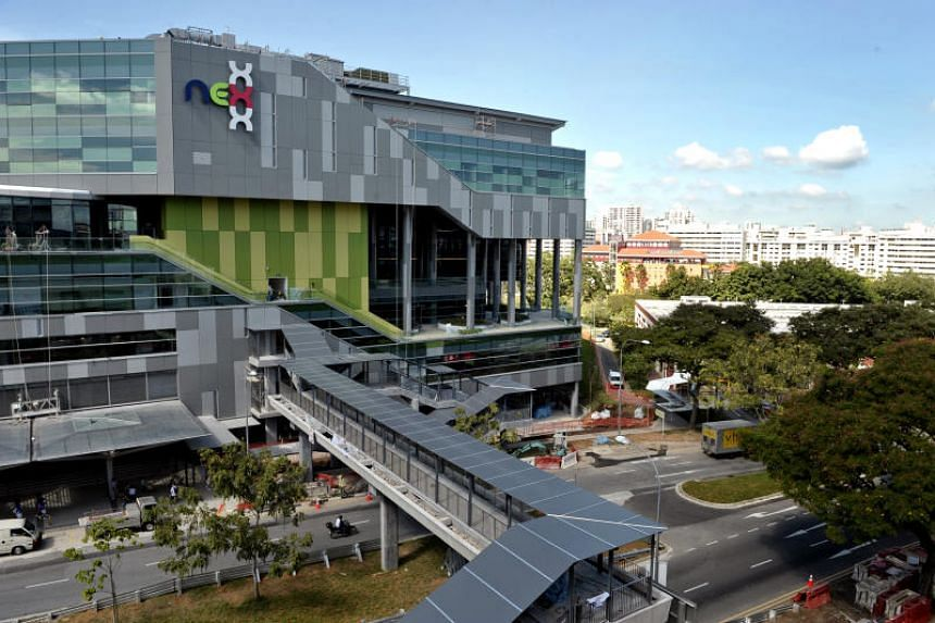 The upcoming polyclinic will be at 587 Upper Serangoon Road, which is across the road from Nex shopping mall.
